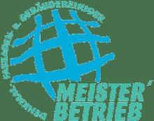 Siegel: Meisterbetrieb (der) Denmal-. Fassaden- und Gebäudereiniger